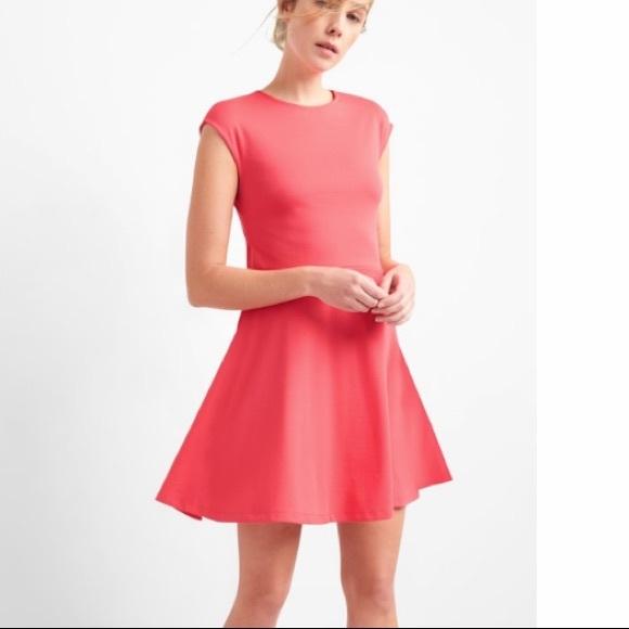 6e924839392b Gap fit   flare dress New Rose Hip 14 Tall